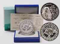 Frankreich : 1/4 Euro Jahr der Ratte inkl. Originaletui und Zertifikat  2008 Stgl.