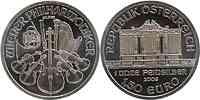 Österreich : 1,5 Euro Wiener Philharmoniker  2009 Stgl.