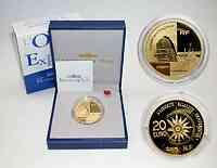 Frankreich : 20 Euro Orient-Express inkl. Originaletui und Zertifikat  2003 PP