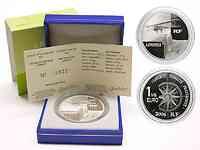 Frankreich : 1,5 Euro Doppeldecker inkl. Originaletui und Zertifikat  2004 PP