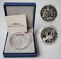 Frankreich : 1,5 Euro Europa-Münze, incl. Originaletui und Zertifikat 2004 PP