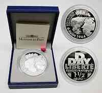 Frankreich 1,5 Euro 60. Jahrestag D-Day 2004 PP