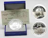 Frankreich : 1,5 Euro Schlacht bei Austerlitz inkl. Originaletui und Zertifikat  2005 PP