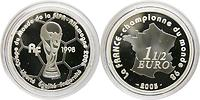 Frankreich : 1,5 Euro Fußball Weltmeister  2005 PP
