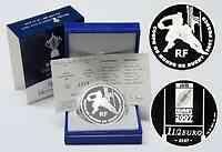 Frankreich : 1,5 Euro Rugby WM inkl. Originaletui und Zertifikat  2007 PP 1,5 Euro Rugby