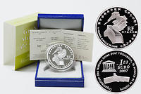 Frankreich : 1,5 Euro China : Große Mauer  2007 PP Chinesische Mauer