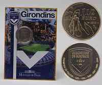 Frankreich : 1,5 Euro Fußball: Girondins de Bordeaux im Originalblister  2010 Stgl.
