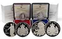 San Marino : 15 Euro Set aus 5 Euro Expo Shanghai 2010 und 10 Euro Robert Schumann inkl. Originaletui und Zertifikat  2010 PP