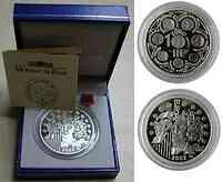 Frankreich 1,5 Euro Europa-Münze, inkl. Etui 2002 PP