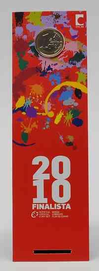 Portugal : 1 Euro im Originalblister - Studenten  2010 Stgl.