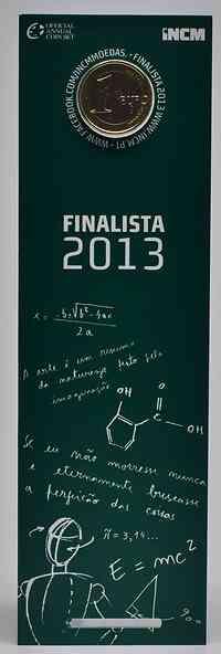 Portugal : 1 Euro Studenten  2013 Stgl.