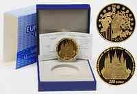 Frankreich : 200 Euro Abtei Cluny inkl. Originaletui und Zertifikat  2010 PP
