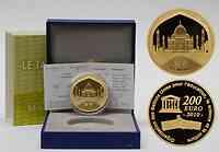 Frankreich : 200 Euro Taj Mahal Indien inkl. Originaletui und Zertifikat  2010 PP