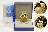 Frankreich : 200 Euro Entdecker Jacques Cartier  2011 PP