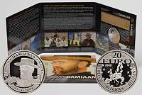 Belgien : 20 Euro Pater Damiaan in Originalblister  2009 PP Damien