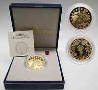 Frankreich 20 Euro Europa-Münze,2002 PP GOLD