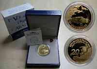Frankreich : 20 Euro Charles Lindbergh, inkl. Originaletui und Zertifikat  2002 PP