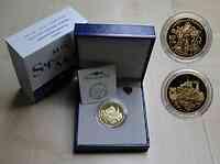 Frankreich 20 Euro Mont Saint Michel 2002 PP Gold