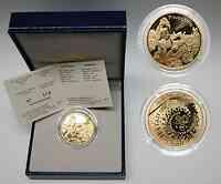 Frankreich 20 Euro Pinocchio 2002 PP Gold