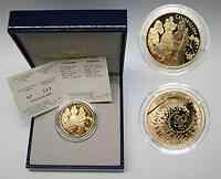 Frankreich 20 Euro Aschenputtel 2002 PP Gold