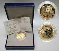 Frankreich 20 Euro Schneewittchen 2002 PP Gold