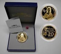 Frankreich 20 Euro Mona Lisa 2003 PP Gold