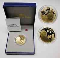 Frankreich 20 Euro Paul Gauguin 2003 GOLD PP