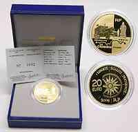Frankreich 20 Euro Halbkettenfahrzeug 2004 GOLD PP
