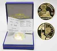 Frankreich 20 Euro Bartholdi 2004 GOLD PP
