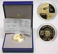 Frankreich 20 Euro Doppeldecker 2004 GOLD PP