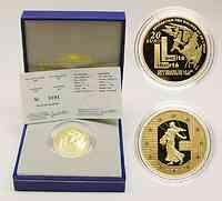 Frankreich 20 Euro Die Säerin, 2005 PP