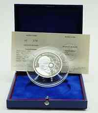 Frankreich : 20 Euro Marie Curie inkl. Originaletui und Zertifikat  2006 PP 20 Euro Marie Curie Silber