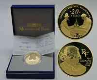 Frankreich : 20 Euro Paul Cezanne inkl. Originaletui und Zertifikat  2006 PP 20 Euro Cezanne Frankreich 2006