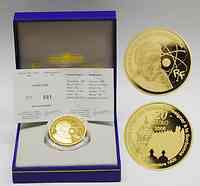 Frankreich : 20 Euro Marie Curie inkl. Originaletui und Zertifikat  2006 PP 20 Euro Marie Curie 2006