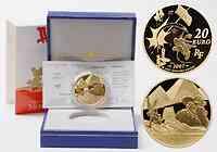 Frankreich : 20 Euro Kleopatra inkl. Originaletui und Zertifikat  2007 PP
