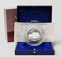Frankreich : 20 Euro Citroen inkl. Originaletui und Zertifikat  2008 PP 20 Euro Citroen