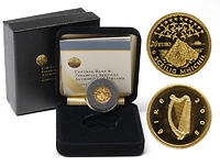 Irland 20 Euro Skellig Michael GOLD 2008 PP