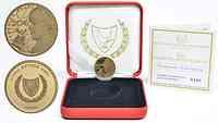 Zypern : 20 Euro 50 Jahre Zentralbank  2013 PP