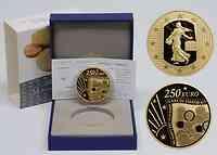 Frankreich 250 Euro 10 J. s. Ausg. der Starterkits 2011