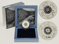 Portugal : 2,5 Euro Coa Tal inkl. Originaletui und Zertifikat  2010 PP