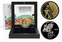 Portugal : 2,5 Euro Olympische Spiele London 2012 PP