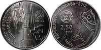 Portugal : 2,5 Euro Guimares  2012 Stgl.