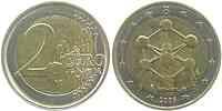 Belgien 2 Euro Atomium Brüssel 2006 bfr