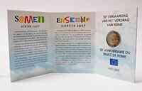Belgien : 2 Euro Römische Verträge im Originalblister  2007 P/L