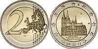 Deutschland : 2 Euro Nordrhein-Westfalen Kölner Dom  2011 bfr