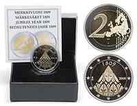 Finnland 2 Euro 200 Jahrestag der Autonomie 2009 PP