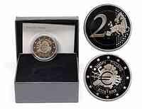 Finnland : 2 Euro 10 Jahre Euro Bargeld  2012 PP