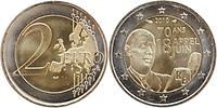 Frankreich : 2 Euro Appell des 18. Juni 1940  2010 bfr