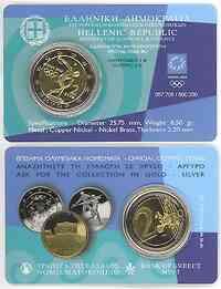 Griechenland : 2 Euro Olympiade Athen  2004 bfr