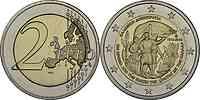 Griechenland : 2 Euro 100 Jahre Vereinigung Kreta mit Griechenland  2013 bfr